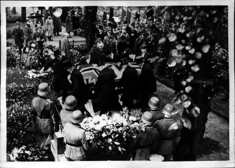 Staatsbegräbnis für Generaloberst v. Fritsch