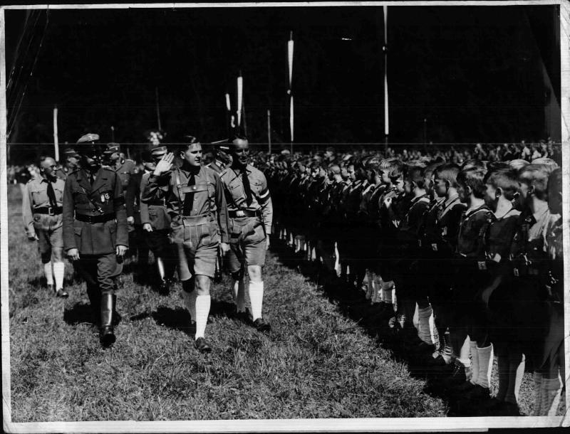 Deutsche Auslandsjugend im Hochlandlager