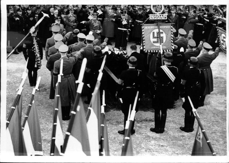 Staatsbegräbnis für den Gauleiter von Kärnten