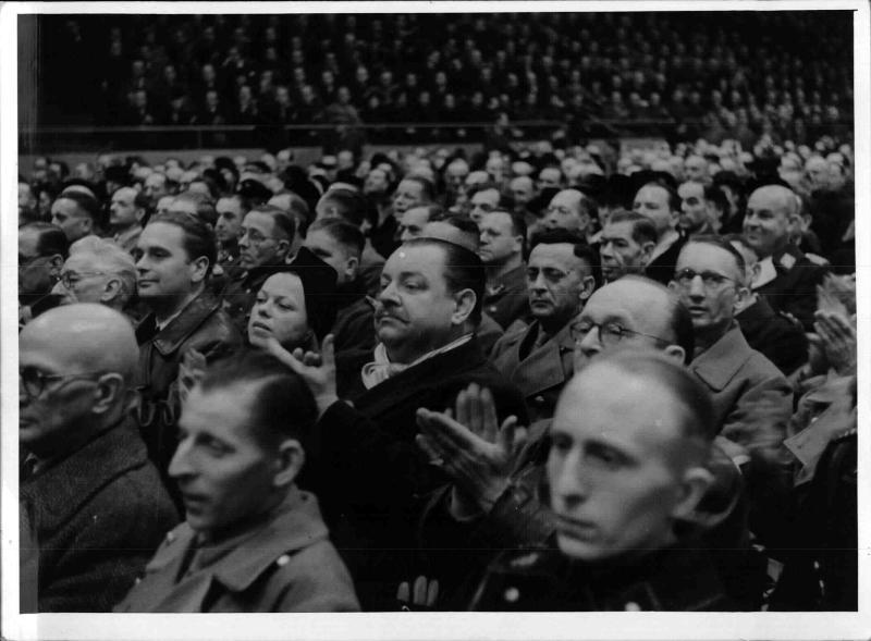 Sonderveranstaltung der NSDAP Gau Berlin im Berliner Sportpalast
