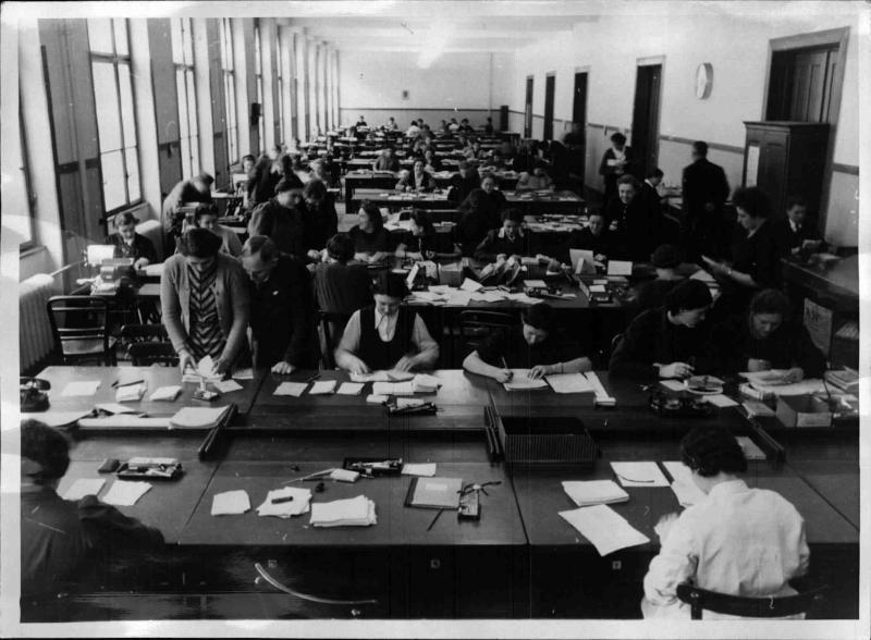 60 Jahre Postsparkassenamt