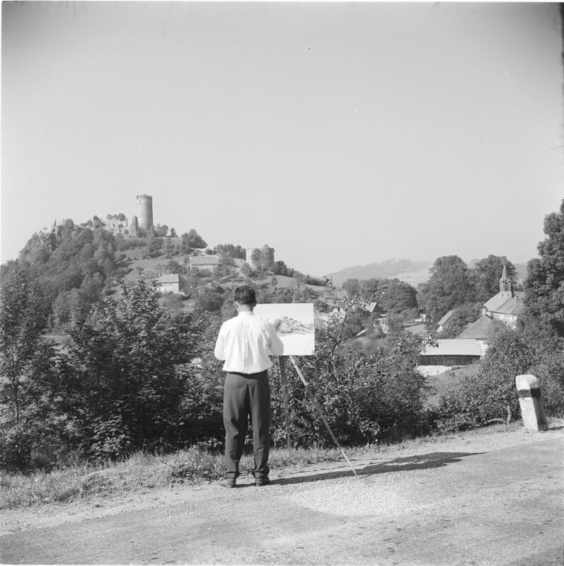 Ort und Ruine Waxenberg im Mühlviertel