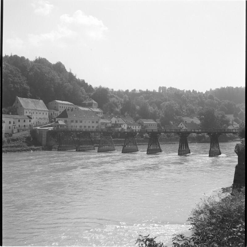 Salzachbrücke von Ach nach Burghausen