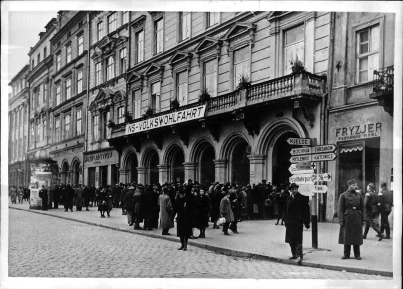 NS-Volkswohlfahrt in Krakau