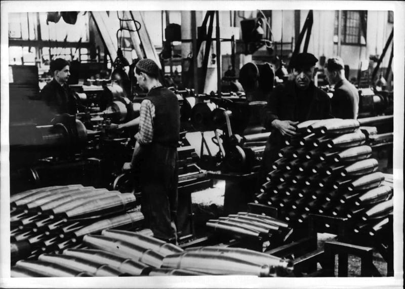 In einer Granatfabrik im Generalgouvernement