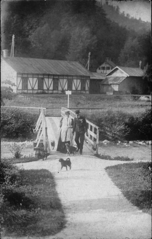 Kaiser Franz Joseph I. in Ischl
