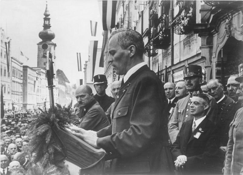 Landeshauptmann Gleißner in Wels