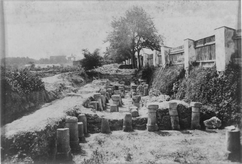 Römische Ausgrabungen bei Lorch