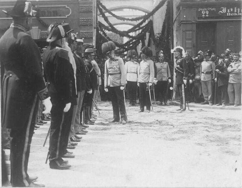 Kaiser Franz Joseph I. in Braunau