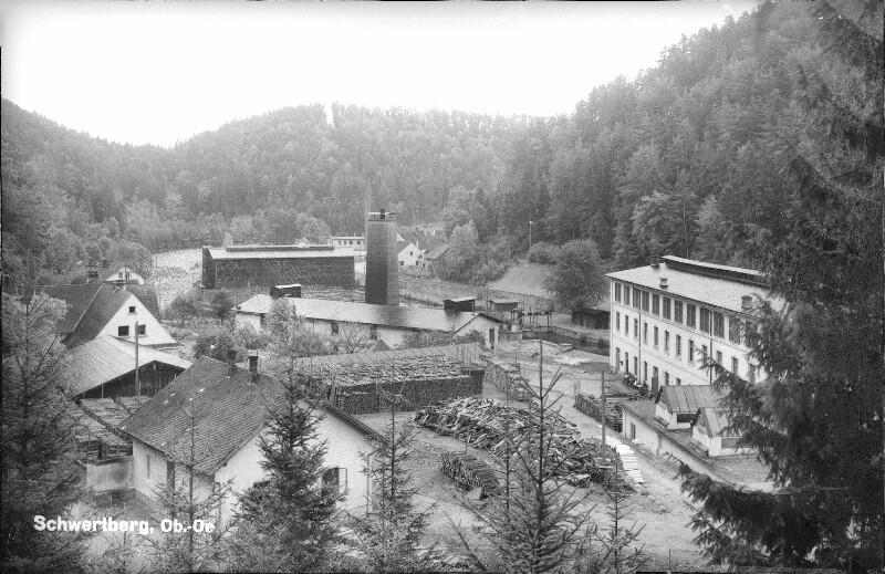Pappenfabrik Josefstal bei Schwertberg