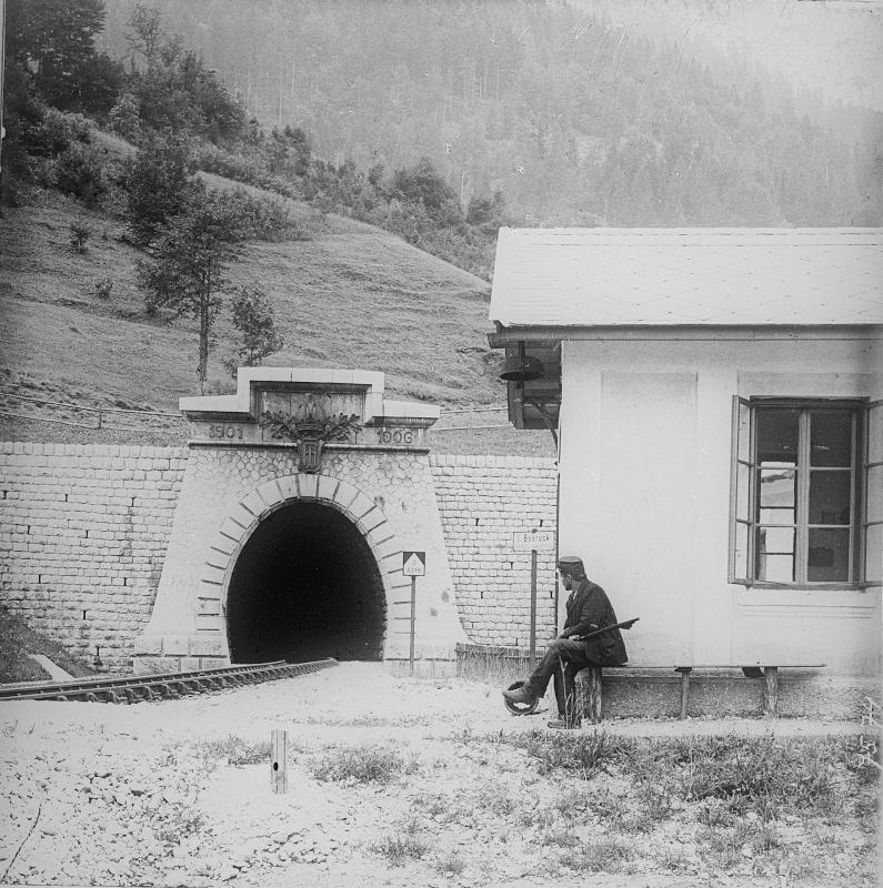 Bosrucktunnel der Pyhrnbahn