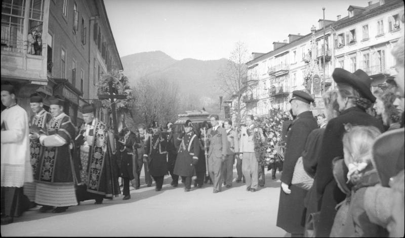 Begräbnis Franz Lehars in Bad Ischl