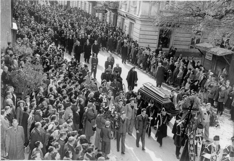 Begräbnis von Franz Lehar