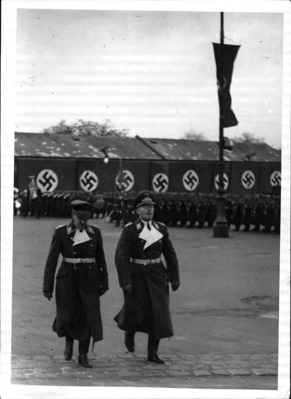 Einzug der Luftwaffe in Wien