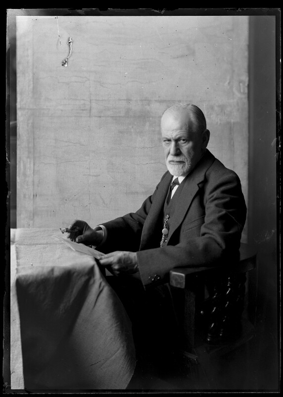Bildnis Sigmund Freud (1856-1939)