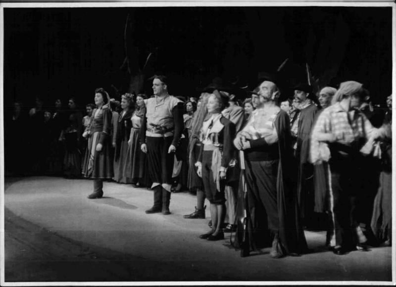 """""""Banditen"""" von Jacques Offenbach in der Wiener Volksoper"""