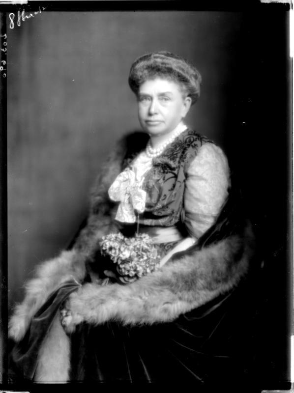 Altersbildnis der Alice Prinzessin von Bourbon-Parma