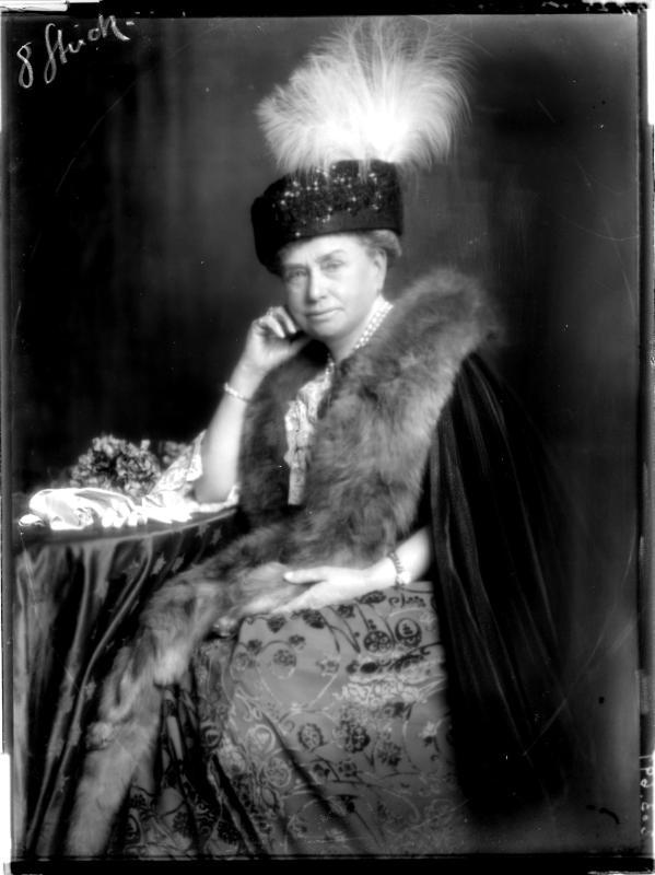 Altersbildnis der Alice Prinzesson von Bourbon-Parma