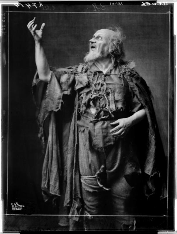"""Ernst Arndt als """"Bettler"""""""