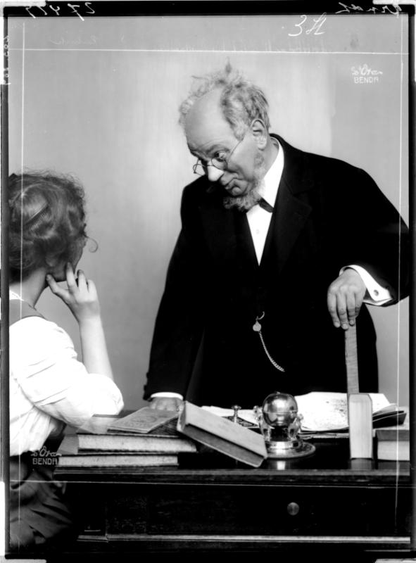 """Ernst Arndt als """"Flachsmann"""""""