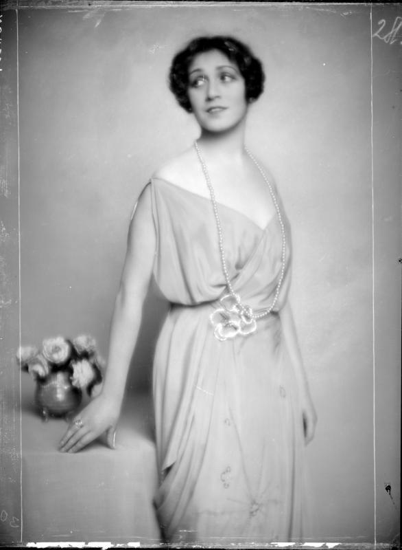 Die Schauspielerin Maria Fein