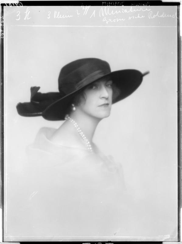 Porträt der Marie Auguste Pinzessin von Anhalt