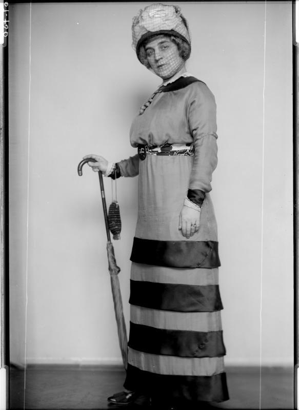 Modefotografie mit Madame Clemanceau