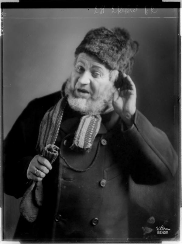 """Ernst Arndt als """"Krüger"""""""