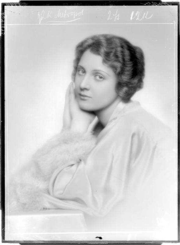 Die Schauspielerin Charlotte Ander