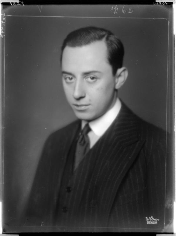 Porträt des Kurt Bois