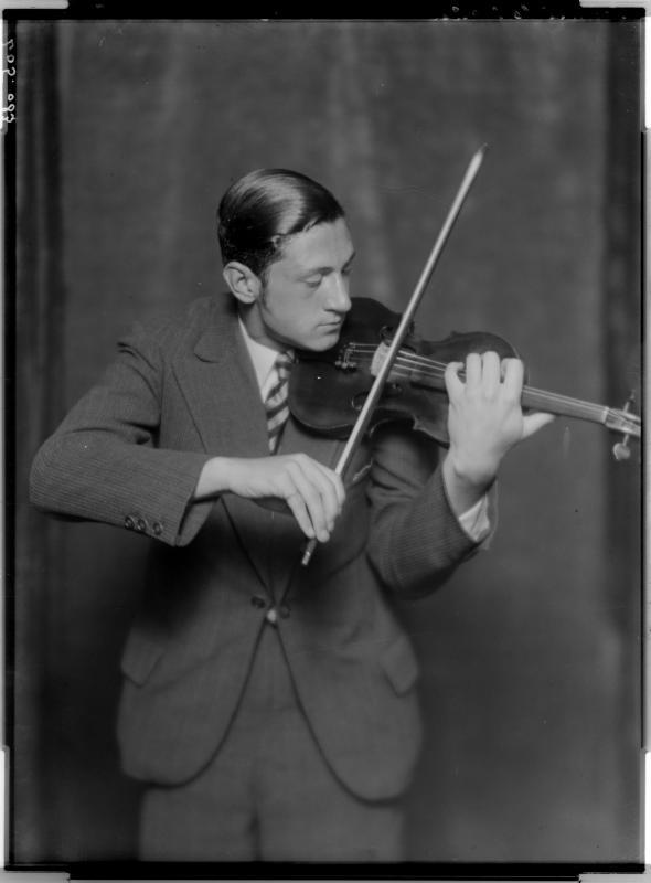 Wolfgang Schneiderhan, 1.8.1932©Bildarchiv Austria, ÖNB