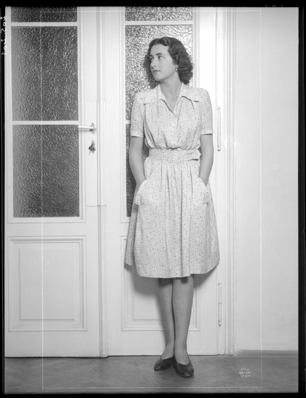 Modefotografie mit Gräfin Traun