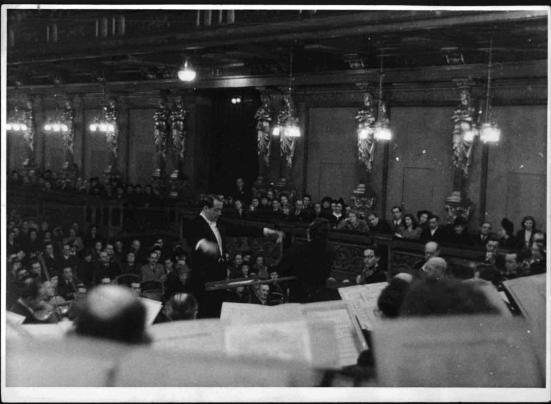 Kurt Pahlen, Musikverein 1947©Bildarchiv Austria, ÖNB