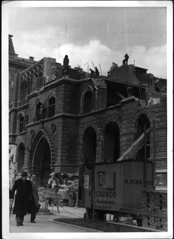 Abbruch des Sühnhauses am Schottenring