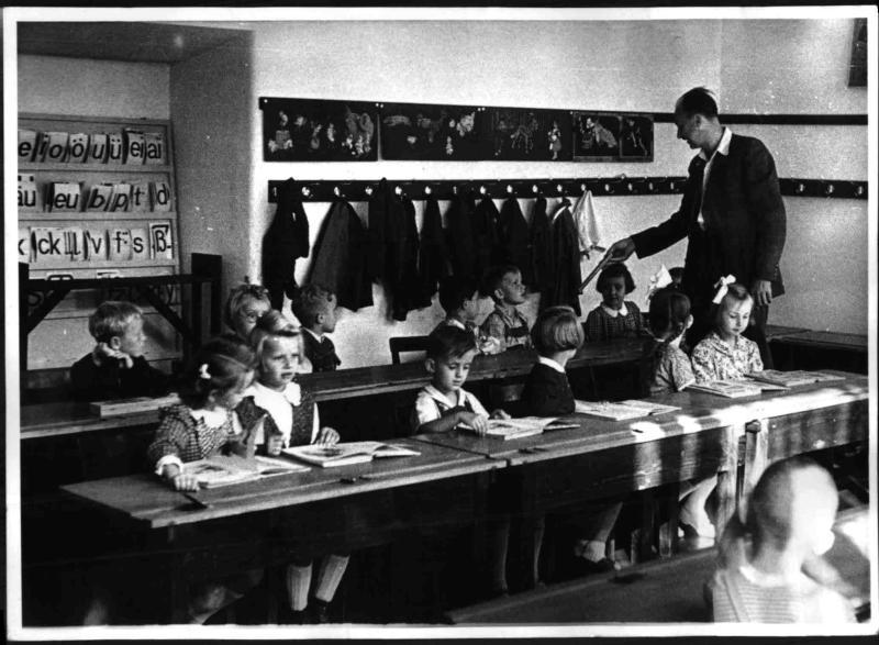 Beginn des Schuljahres 1951/52