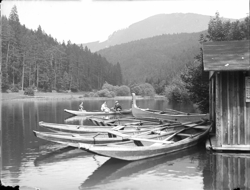 Hinterbergteich bei Hohenberg im Traisental