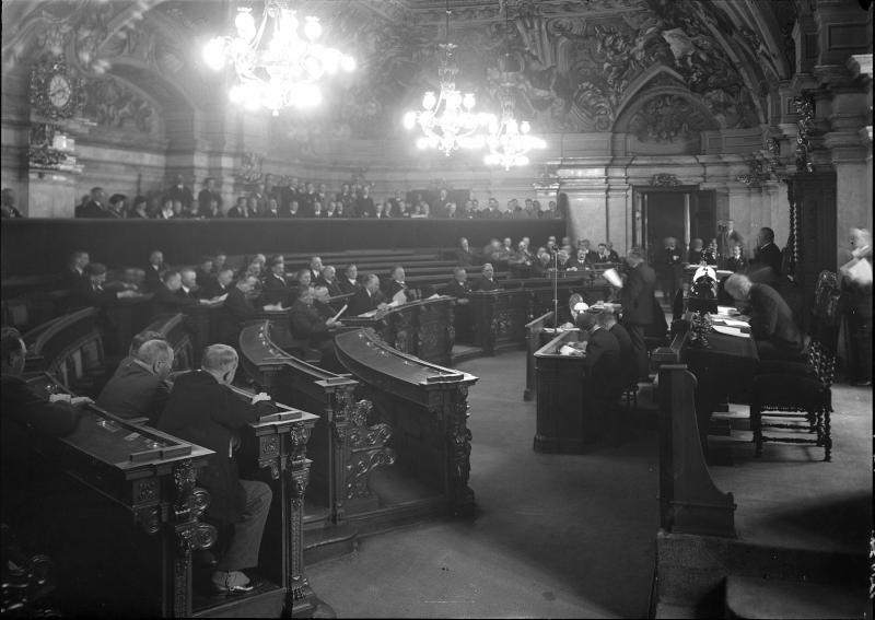 Letzte Sitzung des Landtags
