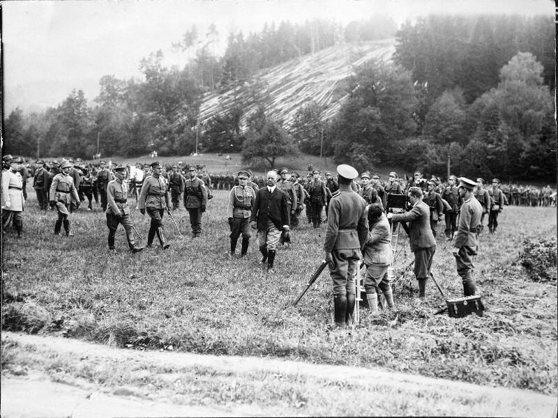 Manöver des österreichischen Bundesheeres in Scheibbs