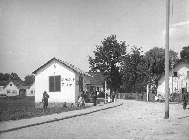 Straßenzollamt Gmünd an der Grenze zu Böhmen