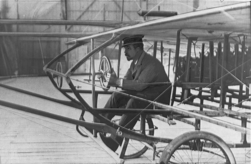 """Karl Illner im """"Cockpit"""""""