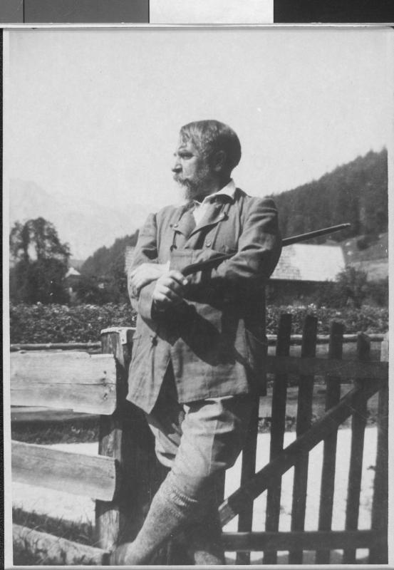 Arthur Schnitzler in Altaussee