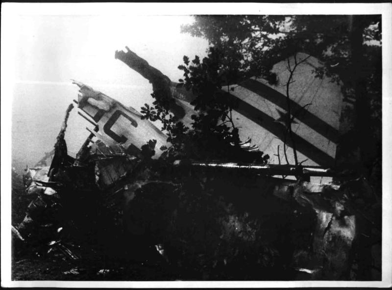 Flugzeugabsturz am Kahlenberg