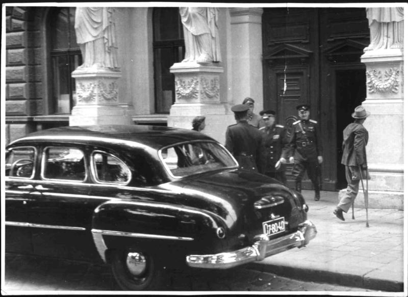 Abzug der Sowjets aus Österreich