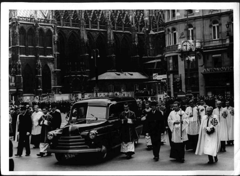 Begräbnis Kardinal Innitzer