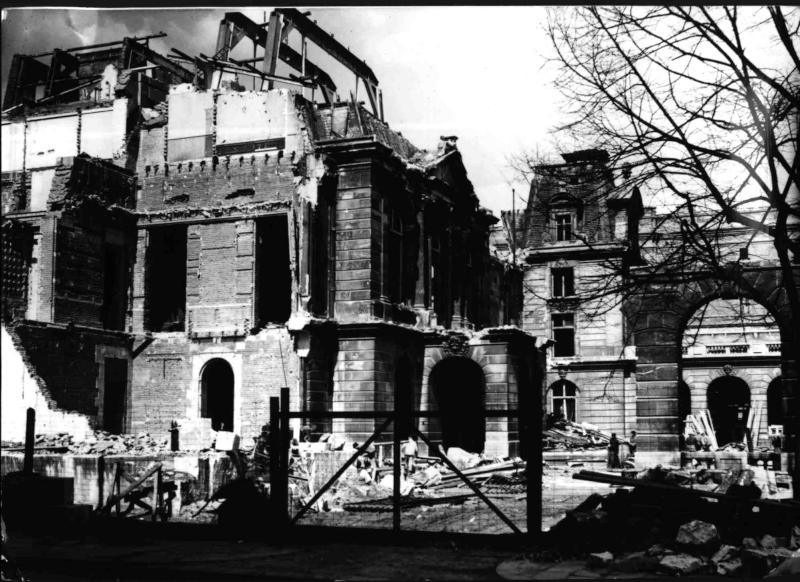 Abbruch des Rothschild-Palais in Wien