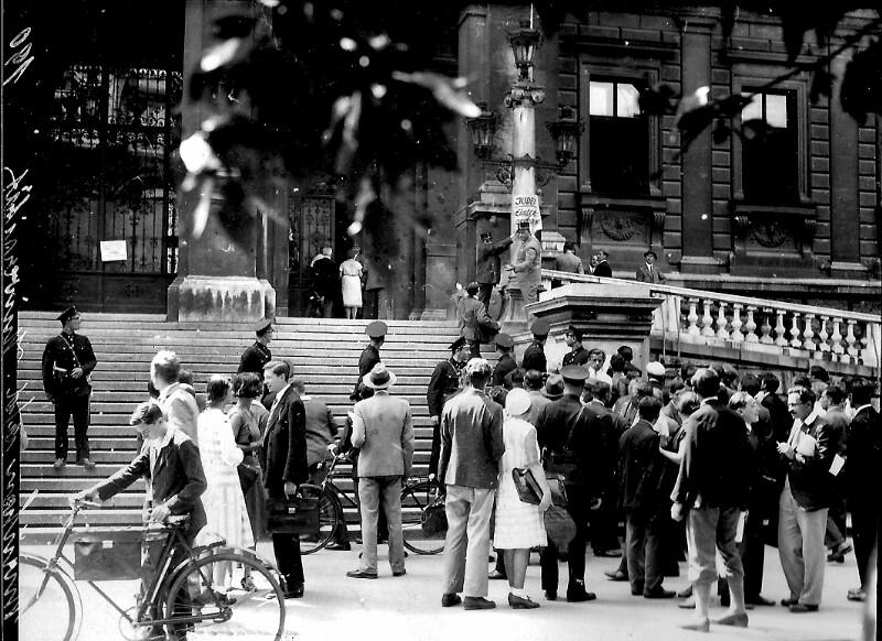 Unruhen an der Universität Wien