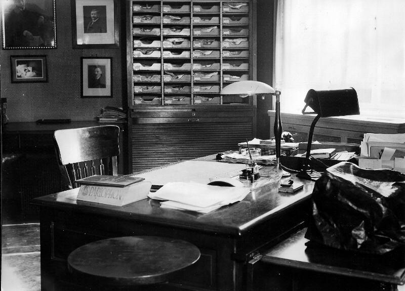 Arbeitszimmer von Friedrich Austerlitz