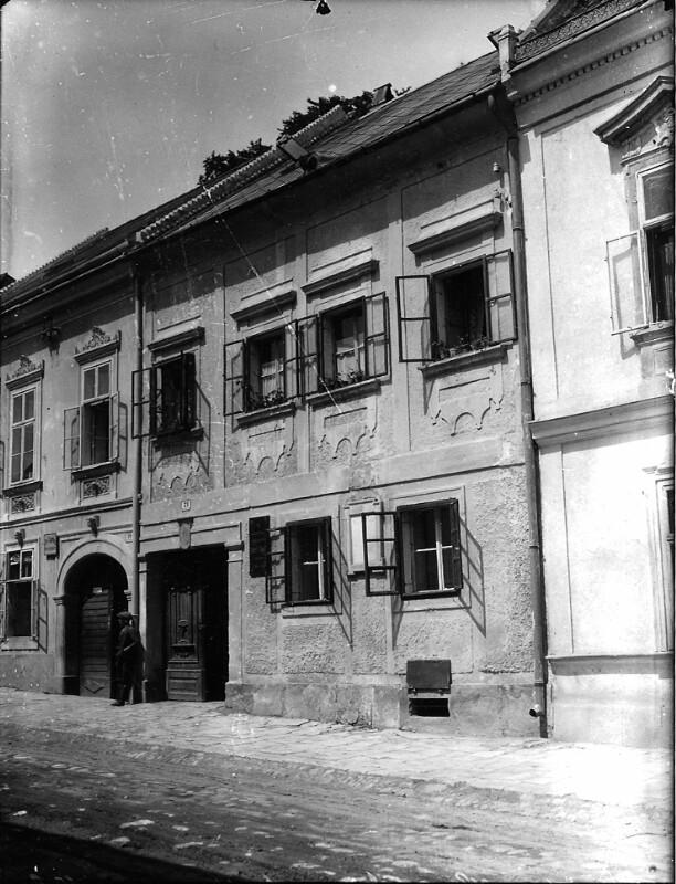 Joseph Haydns Wohnhaus in Eisenstadt, 1931©Bildarchiv Austria, ÖNB