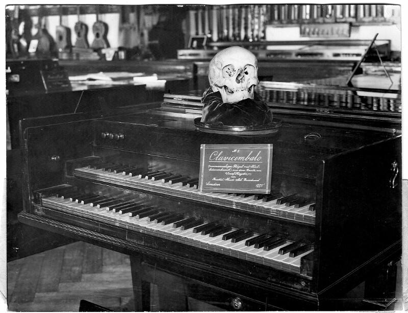 Schädel von Joseph Haydn