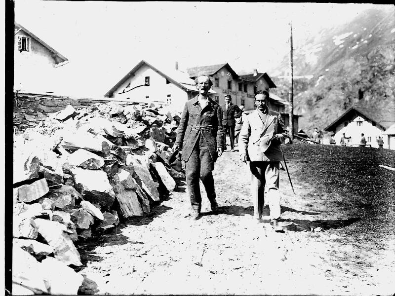 Auguste Piccard in Obergurgl